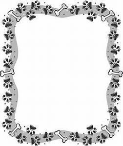 paw print border | Paw Print Border Clip Art Free | doggie ...