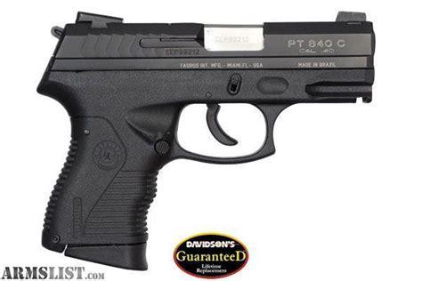 Armslist  For Sale Taurus Pt840 Compact 40 S&w Pistol