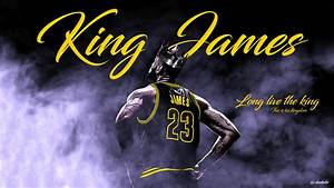 NBA - LeBron James - Wallpaper by dunkakis on DeviantArt