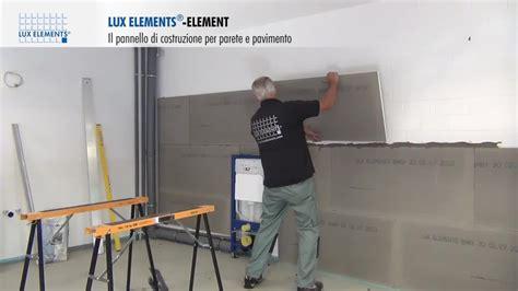 Montaggio LUX ELEMENTS: pannello di costruzione ELEMENT