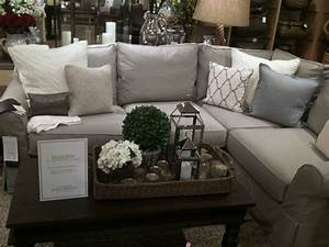 living room sofa pottery barn sectional pillows family With pottery barn style sectional sofa