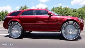 Whipaddict  Kandy Red Dodge Magnum Srt8 On New Amani