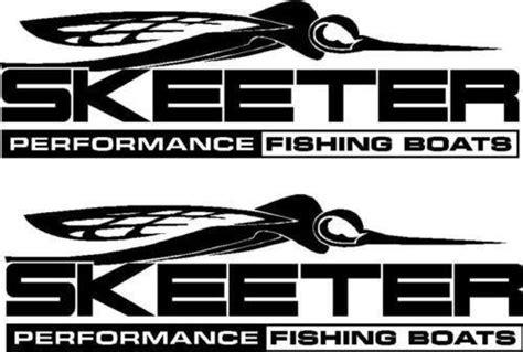 Skeeter Bass Boat Ebay by Skeeter Boat Stickers Ebay