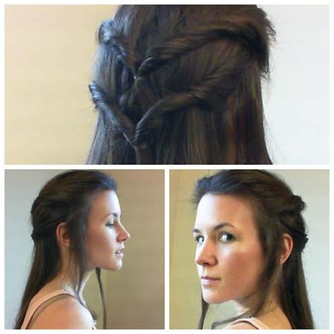 natural beauty tauriel hair  makeup tutorial