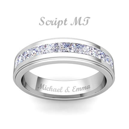 wedding ring with engraving free ring engraving engravable rings my love wedding ring