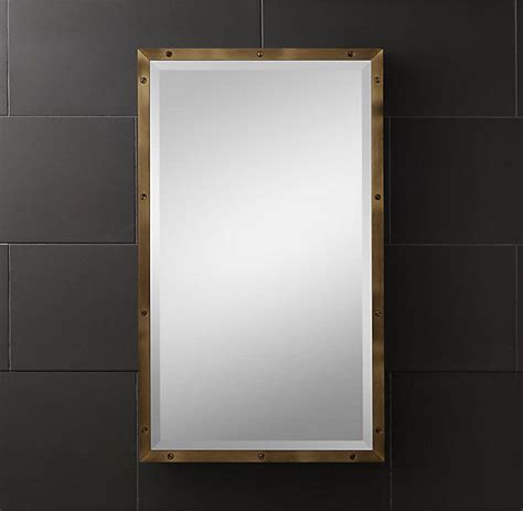 brass porthole medicine cabinet 45 best images about bathroom mirrors on