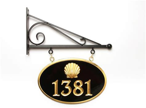 house number sign for l post house number signs custom business signs the chatham