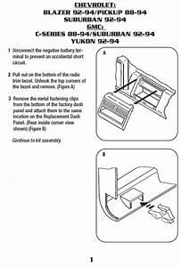 1993 Chevy C1500 Steering Column Diagram : 1993 chevrolet suburbaninstallation instructions ~ A.2002-acura-tl-radio.info Haus und Dekorationen