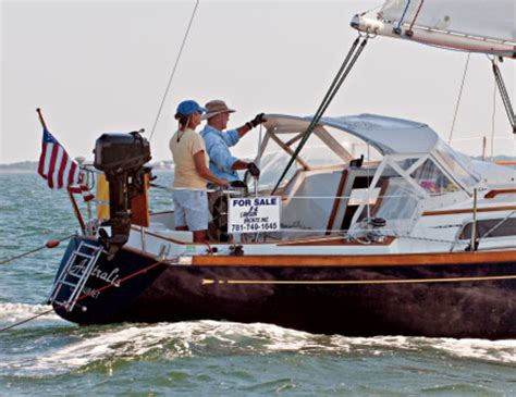 Used Sailboat For Sale by Buying A Used Sailboat Sail Magazine