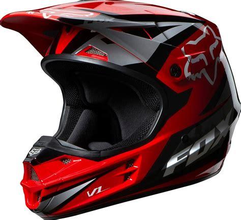 fox v1 motocross helmet 159 95 fox racing v1 race helmet 194980