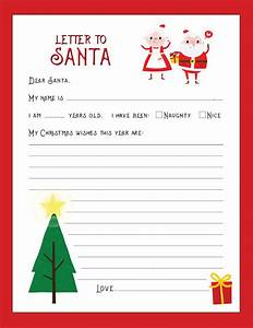 free december calendar holiday gift list and letter to santa With letter to santa postcard
