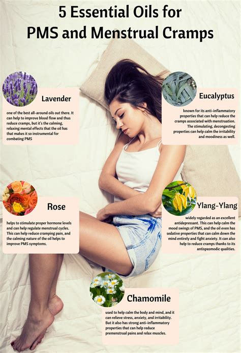 5 Essential Oils For Pms And Menstrual Cramps Organic Aromas