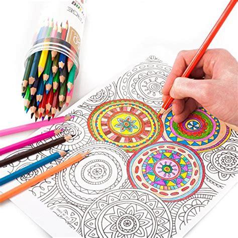 voyage designs colored pencils 50 count pre sharpened
