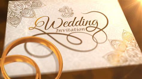 Whatsapp Wedding Invitation Video Templates wedding