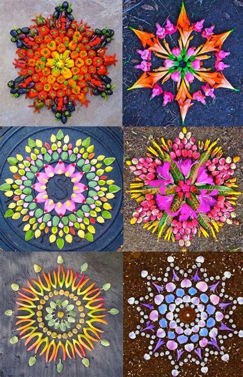 flower mandalas  kathy klein