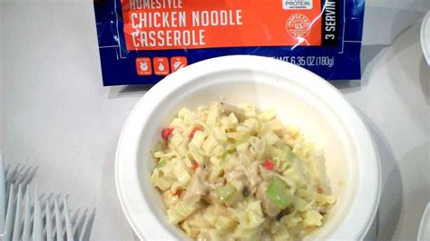 Review Homestyle Chicken Noodle Casserole By Mountain