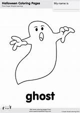 Halloween Ghosts Ghost Coloring Simple Super Worksheets Pages Flashcards Crafts Flashcard Supersimplelearning Kid Song Easy Learning Cards Goblins Printables Creepy sketch template