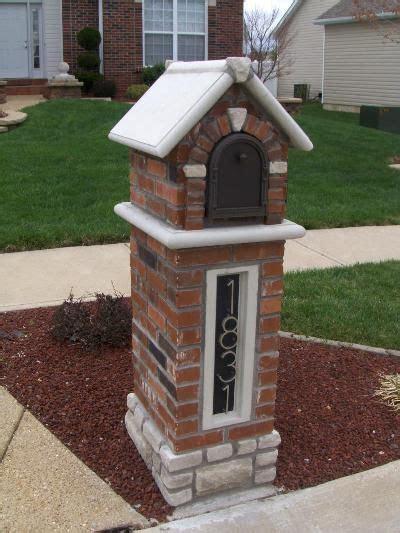 brick l post designs 12 best images about mailbox on pinterest diy mailbox