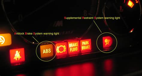 abs light on dashboard diy e36 vader seat repairs