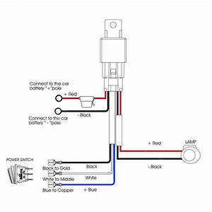 Nilight 14awg Heavy Duty Wiring Harness Kit