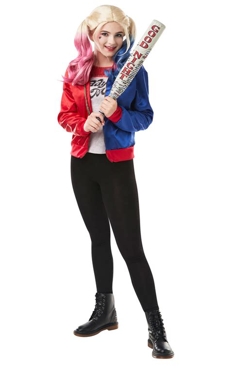 Harley Quinn Suicide Squad Costume Kit   Super Hero Costumes   Mega Fancy Dress