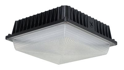 Led Canopy Light Fixtures by Led Low Profile Canopy Light Fixture 40 Watts 866 637 1530