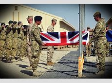 Union Flag lowered at Camp Bastion as Britain's war in