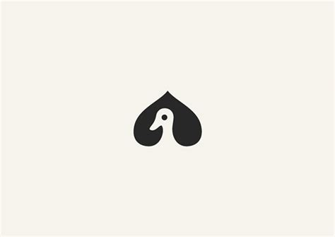 clever animal logos created  negative space