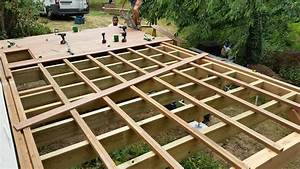 fondation pour terrasse en bois 1 nivrem terrasse bois With fondation pour terrasse en bois