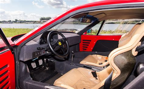 How Much Is A F40 Worth by News Nigel Mansell S F40 Sells At Auction For