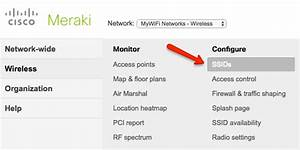 Cisco Meraki Cloud Integration  Manual Setup   U2013 Mywifi