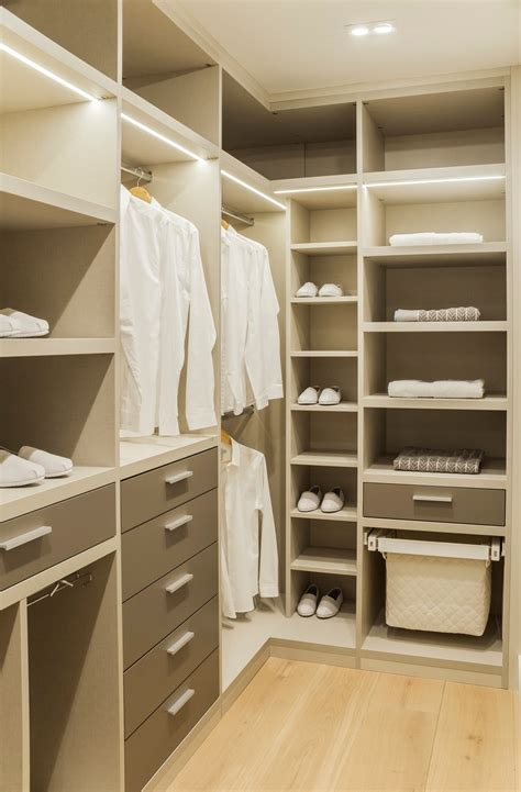 The Design Closet by 30 Custom Reach In Closet Storage System Designs