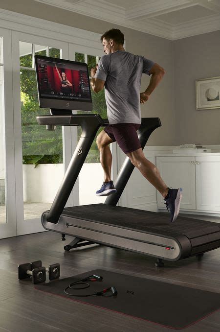 peloton treadmill  stationary bike  run