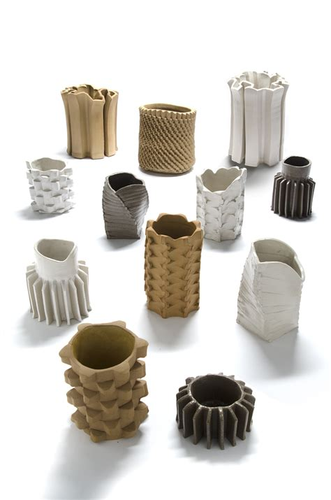 pressed ceramic vases  floris wubben moco vote
