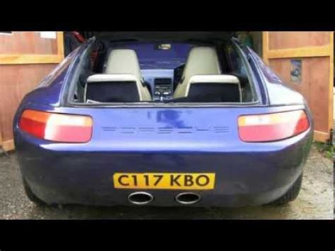 Strosek Porsche 928 S2 - Club Car - YouTube