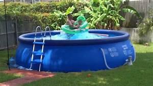 Easy Set Pool : inflatable pool tidal wave intex easy set pool youtube ~ Orissabook.com Haus und Dekorationen