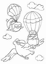 Coloring Flying Sky Albatross Pinguins Pages Curious Fly Printable Animals Learned Template Tales Books Drawing Categories Bird Supercoloring sketch template