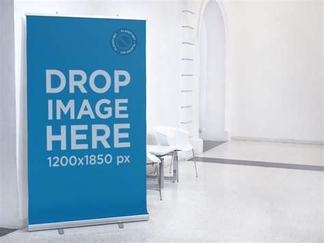 placeit vertical banner mockup   art museum
