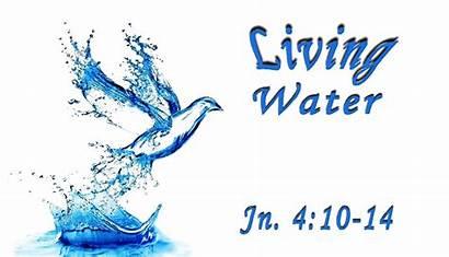 Water Living Gushing Spring Church Copy Cursillo