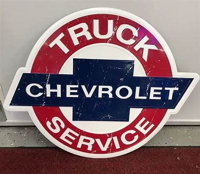 Chevrolet Embossed Reproduction Truck