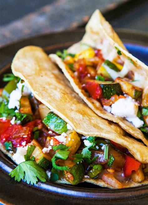 vegetarian tacos simplyrecipescom