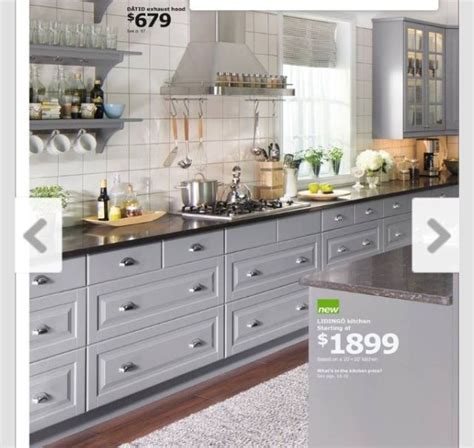 catalogue cuisine ikea pdf cool kitchen cabinets astounding grey rectangle modern