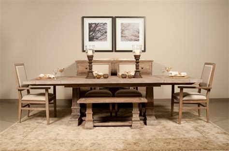 rectangle dining table with bench : Rectangle Dining Table