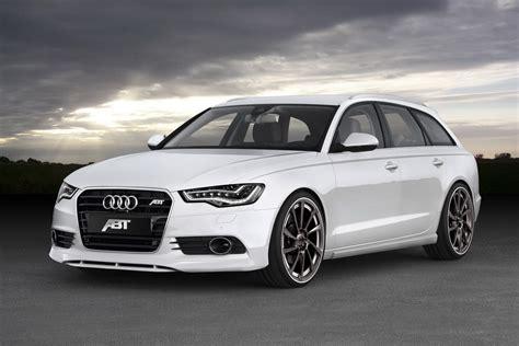 Abt Sportsline Customizes New Audi A6 Avant
