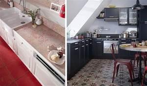 Carreaux De Ciment Rouge : imitation carreaux de ciment misez sur le carrelage la ~ Melissatoandfro.com Idées de Décoration