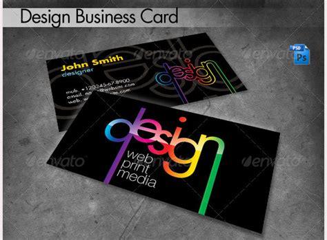 web design business cards 68 business cards for designers free premium templates