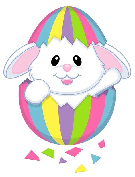 Free Easter Clip Easter Bunny Clipart Best Easter Eggs