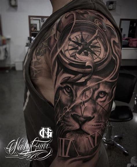 tatuajes de brujulas  hombres  mujeres disenos