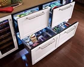 kitchen island with refrigerator undercounter refrigerators the new must in modern kitchens