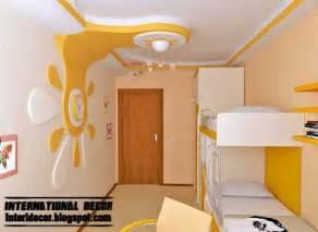 Living Room Curtain Ideas by Best 10 Creative Kids Room False Ceilings Design Ideas